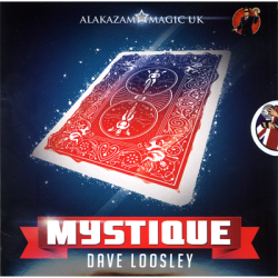 Mystique Color Changing Deck (DVD and Gimmicks) by David Loosely and Alakazam Magic