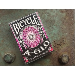 Kartu Remi Bicycle A Glo Playing Cards Red